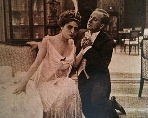 Gustavo Serena - Serena and Francesca Bertini in The Lady of the Camellias (1915)