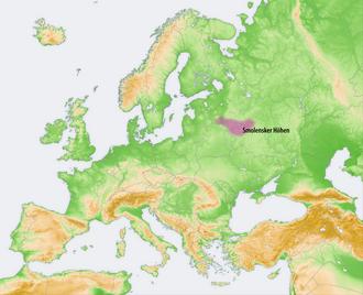 Smolensk Upland - Smolensk Upland
