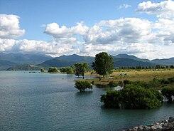 Resultado de imagen para lago colbun.