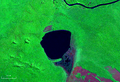 Laguna Bellavista Bolivia Satelital map 61.52334W 13.png