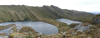 Chingaza National Natural Park - Image: Lagunas de Siecha