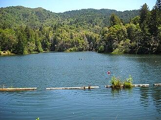 Lake Lagunitas - The lake in 2009