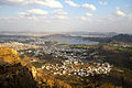 Lakes and Udaipur City Rajasthan India March 2015.jpg