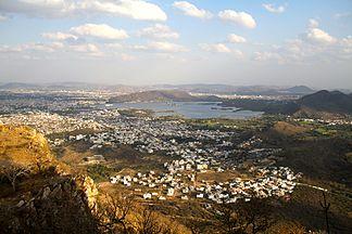 Udaipur im Aravalligebirge