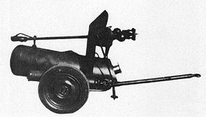 Lanciafiamme Modello 35 - Model42 carrellato