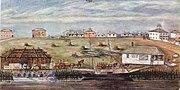 Landing at melbourne 1840