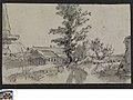 Landschap met hoeve en molen, circa 1811 - circa 1842, Groeningemuseum, 0041564000.jpg