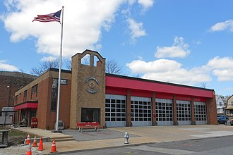 Lansdowne, Pennsylvania - Fire Station 19