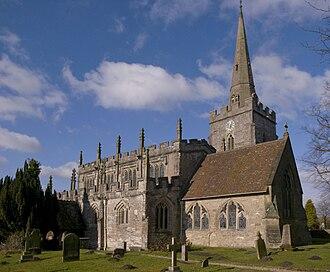 Lapworth - Lapworth church
