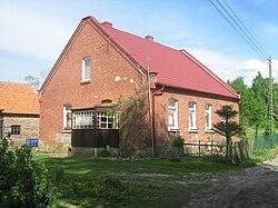 Zabytkowy dom we wsi