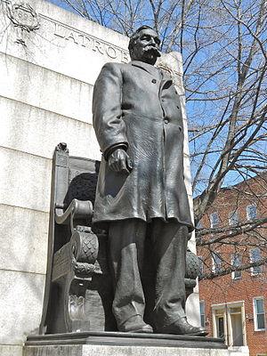 Edward Berge - Monument to Ferdinand Latrobe