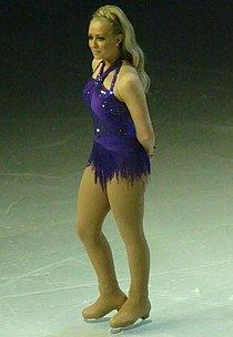 Laura Hamilton - Dancing on Ice 2011.jpg