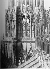 Le Secq Reims Cathedral southwest tower detail.jpg