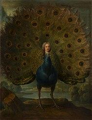 Le Maréchal de Gontaut Biron en paon (1700-1788)