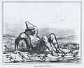 Le réveil de l'Italie, from Actualités, published in Le Charivari, May 7, 1859 MET DP876832.jpg