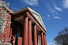 Lee County Courthouse in the Spring.JPG