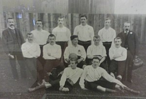 Leicester City F.C. - The Leicester Fosse team of 1892