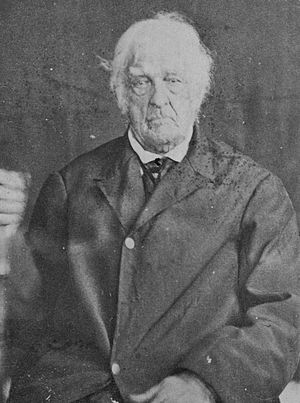 Last surviving United States war veterans - A photograph of Lemuel Cook (1759–1866) published in The Last Men of the Revolution, one of the last official veterans of the American Revolutionary War who enlisted in the 2nd Continental Light Dragoons, Continental Army.