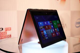 Lenovo Yoga range of laptops and tablet computers by Lenovo
