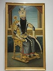Attributed to Mihr 'Ali: Fath Ali Shah (1797-1834), ruler of the Qadjar dynasty