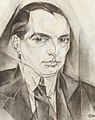 Leo Gestel, Self Portrait, 1913, charcoal and white.jpg