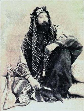 Leone Caetani - Photo of Leone Caetani taken in Egypt in 1888