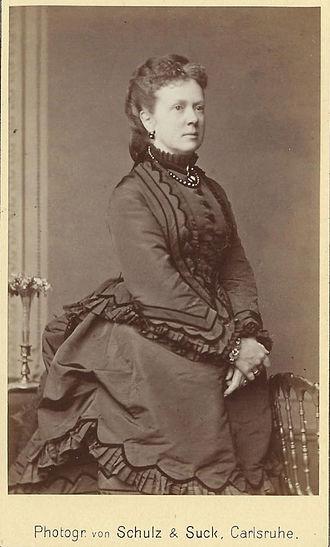 Princess Leopoldine of Baden - Image: Leopoldine, Princess of Hohenlohe Langenburg