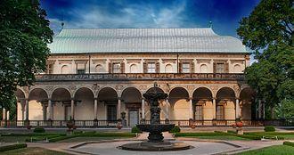 Czech Renaissance architecture - Image: Letohrádek královny Anny by Crazyspeak (2)