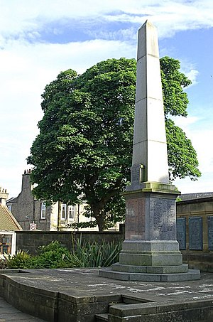 Scoonie - War Memorial of the Parish of Scoonie, Durie St., Leven
