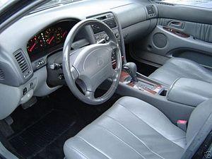 Lexus GS - Lexus GS 300 interior (JZS147)