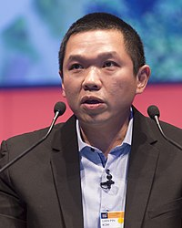 Lian Pin Koh, Founding Director, ConservationDrones.org; and Professor of Applied Ecology and Conservation, University of Adelaide (34299001125) (cropped).jpg