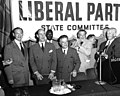 Liberal Party State Committee meeting with Adlai Stevenson, David Dubinsky, Luigi Antonini, Alex Rose, and others (5278527706).jpg