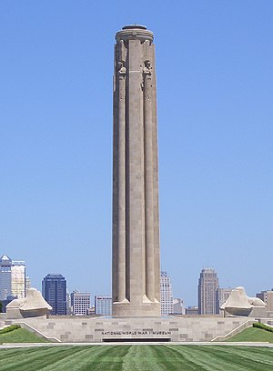 National World War I Memorial (Washington, D.C.) - The Liberty Memorial in Kansas City, Missouri.