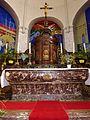 Licques (Pas-de-Calais) église abbatiale autel principal.JPG