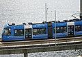 Lidingöbanan på Gamla Lidingöbron, maj 2021.jpg