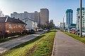 Lieanida Biady street and Uschodni lane (Minsk) 5.jpg
