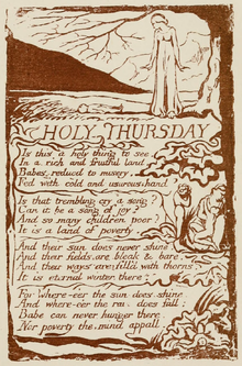 Life of William Blake (1880), Volume 1, Songs of Experience - Holy Thursday.png