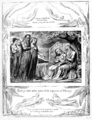 Life of William Blake (1880), Volume 2, Job illustrations plate 19.png