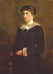 A Jersey Lily by Millais