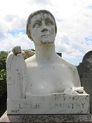 Lillie Langtry's grave in Saint Saviour, Jersey, is regularly visited by tourists and admirers