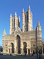 Lincoln Cathedral West Front adjusted.JPG