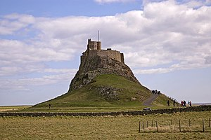Macbeth (1971 film) - Lindisfarne Castle was a filming location.