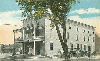 Whitefield, New Hampshire - Lindsay's Inn c. 1915