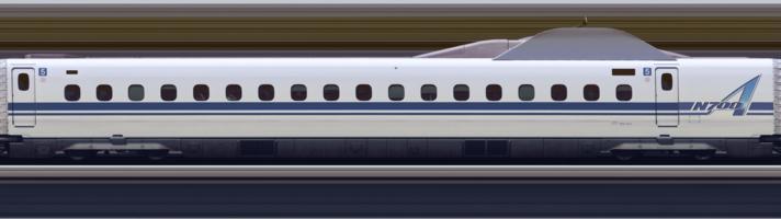 Line scan photo of Shinkansen N700A Series Set G13 in 2017, car 05.png
