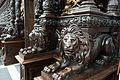 Lions carved from wood (27197202800).jpg