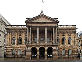 Liverpool Town Hall - Liverpool Town Hall facade