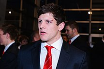 Lloyd Williams. Wales Grand Slam Celebration, Senedd 19 March 2012.jpg