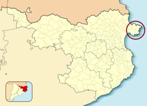 Cap de Creus - Map