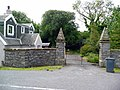 Lodge gates, Dunskey House - geograph.org.uk - 915492.jpg