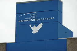 Logo fan de universiteit